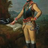 Johann Heinrich Tischbein d.Ä., Bildnis des Louis Gaucher, Duc de Châtillon, 1762, MHK, Gemäldegalerie Alte Meister