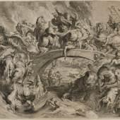 Lucas Vorsterman I nach Peter Paul Rubens, Amazonenschlacht, 01.01.1623, Graphische Sammlung, MHK
