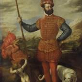 Tizian, Bildnis eines Feldherrn, MHK, Gemäldegalerie Alte Meister