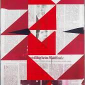 """Michael Wegerer """"Game Plan B"""",  2017 Siebdruck und Lack auf Papier und Holz, 100x150cm (c) Michael Wegerer, Fotografin (c) Claudia Rohrauer"""