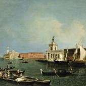 Michele Marieschi, La Punta della Dogana e san Giorgio Maggiore, 1739-40