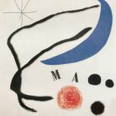 Joan Miró (1893-1983): Poème (I) (Gedicht (I)), 1965, Fundació Joan Miró, Barcelona