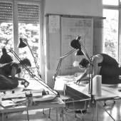 Mitarbeiterinnen des Mannheimer Büros Ingeborg Kuhler, 1986, Foto Marina Auder