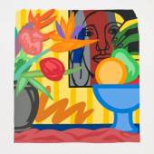 /  Revisit! Prints, Multiples and Drawings /  Tom Wesselmann: Mixed Bouquet with Leger 1993 Siebdruck auf papier