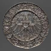 Porträtmedaille auf Karl V. (reg. 1520 – 1556) (430 KB) Albrecht Dürer (Nürnberg 1471 – 1528 Nürnberg) (Entwurf) Hans Krafft (? 1481 – 1542/43 Nürnberg) (Ausführung) 1521 Silber (Prägung) Inv.-Nr. 18bβ © KHM