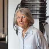 Porträt Christa Petroff-Bohne in der Ausstellung, Dresden 2020, © Foto: SKD/Klemens Renner