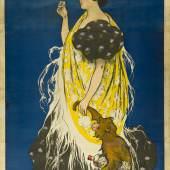 Ramon Casas (1866–1932) Anis del Mono, 1897 Farblithografie, 218,7 x 110 cm Museum für Kunst und Gewerbe Hamburg Public Domain