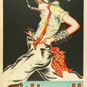 Rougement (Charles Gesmar, 1900–1928) Mistinguett, 1927/28 Lithografie, 157,5 x 117,2 cm Museum für Kunst und Gewerbe Hamburg Public Domain