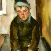 Bildnis Jan Lanker, Aduard Bargheer, Öl auf Leinwand, 92 x 71 cm