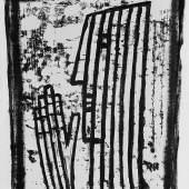 Richard Haizmann (1895-1963), Prophet, 1954 , Schwarze Tusche, Pinselzeichnung über Lithografie, 53, 5 x 41,5 cm, Dauerleihgabe aus der Sammlung Hamburger Sparkasse, Foto: Fotostudio Grünke, Hamburg