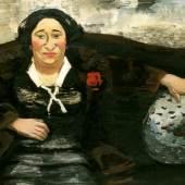 Bildnis Frau Weiß, Karl Kluth, 1930, Öl auf Leinwand, 80 x 100 cm