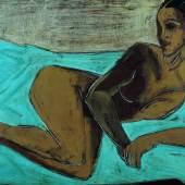 Fritz Kronenberg (1901-1960), Ana (liegender Akt), 1930, Öl auf Leinwand, 74 x 120 cm, Dauerleihgabe aus der Sammlung Hamburger Sparkasse, Foto: Fotostudio Grünke, Hamburg