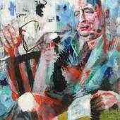 Karl Kluth (1898-1972) Hans Georg Heise I, 1962 Öl auf Karton | oil on cardboard, 100 x 80 cm © Vera Kluth