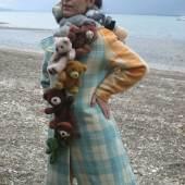 Katell Gélébart im Teddy-Coat, Foto: Katell Gélébart