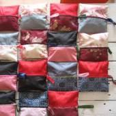 Kosmetiktäschchen aus alten Kimonos, Foto: Katell Gélébart