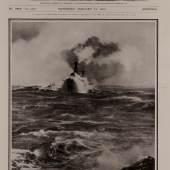 """Titelseite der britischen Illustrierten """"The illustrated London News"""", Ausgabe vom 23. Januar 1915, Museum für Kunst und Gewerbe Hamburg"""