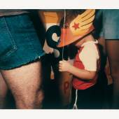 Barbara Crane, Private Views, 1981, Polaroid Polacolor 4x5 Type 58, 10,2 x 12,7 cm, © Barbara Crane