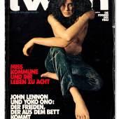 twen, Nr. 6, 1969, Fotografie: Guido Mangold, Grafik: Willy Fleckhaus, © Foto: Hans Döring
