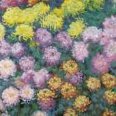 Claude Monet Massif de chrysanthèmes, 1897 Öl auf Leinwand, 130,8 x 88,9 cm Privatsammlung