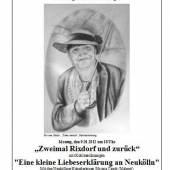 Ausstellung von Silvana Czech und zur Lesung von Ingrid Biermann-Volke am Montag, 9. Januar um 18 Uhr im Gemeinschaftshaus