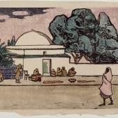 Gabriele Münter, Marabout, 1907 Städtische Galerie Bietigheim-Bissingen © VG Bild-Kunst Bonn 2014 Foto: Städtische Galerie Bietigheim-Bissingen