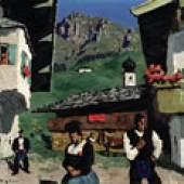 WALDE, Alfons 1891 - 1958 Tiroler Dorf (1933) 90.000 – 130.000