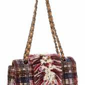 Multicolour fringe fabric bag (€500 – 1,000)