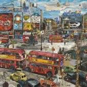Vik Muniz - Piccadilly Circus (Postcards from Nowhere) - 2014_'Copyright the Artist. Courtesy Ben Brown Fine Arts, London'