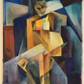 Margarete Kubicka, Die drei Sprünge des Wang-lun - Sukoh war ungerettet geblieben, 1925, Berlinische Galerie, © Karol Kubicki, Berlin, © Repro: Kai-Annett Becker