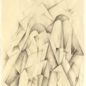 Max Dungert Turm, 1923 Berlinische Galerie, © Urheberrechte am Werk erloschen, © Repro: Kai-Annett Becker