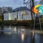 Ansicht des Museum Art.Plus in Donaueschingen. Im Vordergrund: Paul Schwer, GULF, 2014 © VG Bild-Kunst Bonn, 2019 & Museum Art.Plus / Art.Plus Foundation