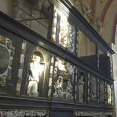 Empore in der Dorfkirche in Lübow * Foto: Deutsche Stiftung Denkmalschutz/Linden