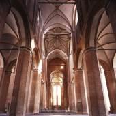 Innenraum von St. Georgen in Wismar © Roland Rossner/Deutsche Stiftung Denkmalschutz