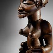 Chokwe Female Statue Angola