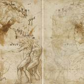 Girolamo Francesco Maria Mazzola, called Parmigianino Recto: Shepherds for an Adoration Verso: Two Putti Among Foliage Estimate: 300,000 - 500,000 USD