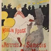 10053 Henri de Toulouse-Lautrec, Moulin Rouge - La Goulue