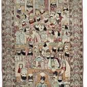 Lavar Kirman Schah-Teppich aus der Sammlung Gert K. Nagel  Südpersien, um 1910 241 x 145 cm