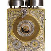 Astronomische Renaissance-Tischuhr um 1700  Bezeichnet: Joh. Christoph Erhardt/Augustä Vindelicorum (Augsburg)