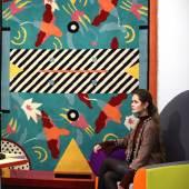 Nathalie du Pasquier, 'Riviera' Carpet, designed 19…£1,000-1,500).