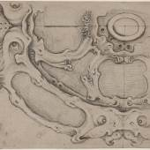 Design for a basin, Attributed to Adam van Vianen, c. 1610–1627. Stockholm, Nationalmuseum