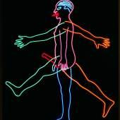 Bruce Nauman, Marching Man, 1985 © Hamburger Kunsthalle / bpk © VG Bild-Kunst, Bonn Foto: Elke Walford