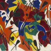 118000309 ERNST WILHELM NAY Purpurmelodie, 1951. Öl auf Leinwand Schätzpreis: € 200.000 - 300.000
