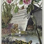 Roesel von Rosenhof, Die natürliche Historie der Frösche (Antiquariat F. Neidhardt 27.000 CHF)