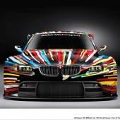 BMW ART CARS – KUNST TRIFFT TECHNIK. HIER: DER BMW M3 GT2 VON JEFF KOONS (2010)