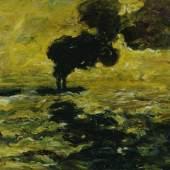 Emil Nolde (1867–1956) Schlepper auf der Elbe, 1910 Öl auf Leinwand, 71 x 89 cm Sammlung Rauert in der Hamburger Kunsthalle © Hamburger Kunsthalle / bpk Photo: Elke Walford