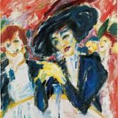 Emil Nolde  Am Weintisch, 1911  Ölfarben auf Leinwand  88,5 x 73,5 cm  © Nolde Stiftung Seebüll