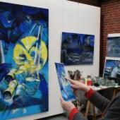 Impressionen Ausstellung mit Brigitte Nolden