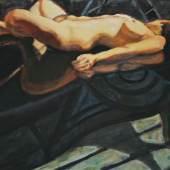 Norbert Tadeusz (1940 – 2011) Andrea   2003   Acryl auf Leinwand   80 x 120 cm Taxe: 6.000 – 8.000 Euro