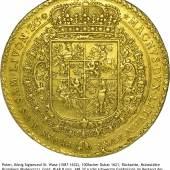 Polen, König Sigismund III. Wasa (1587-1632), 100 Dukaten 1621, Münzstätte Bromberg (Bydgoszcz), Gold, Ø 68,8 mm, 348,37 g, © Münzkabinett, Staatliche Kunstsammlungen Dresden, Foto: Roger Paul