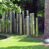 vSkulpturengarten des Düsseldorfer Künstlers Friedrich Werthmann © Hartmut Witte